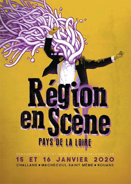 visuel région en scène Pays de la Loire 2020 by FABIO